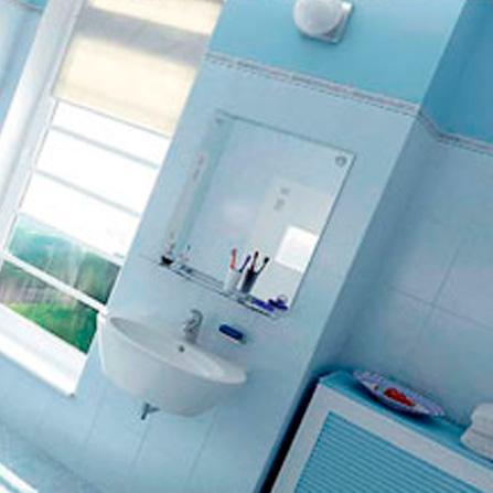 Banheiro em 3d