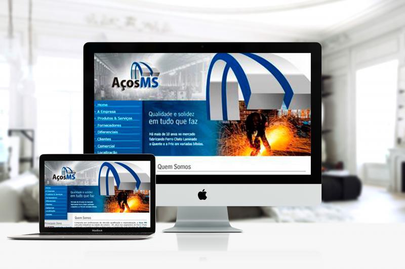 Aços MS - Site