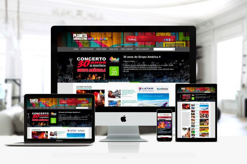 Planeta América Latina - Site